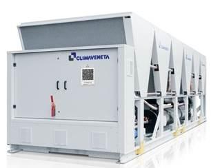 Чиллеры Climaveneta с воздушным охлаждением