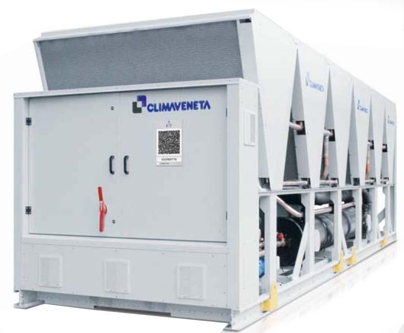 climaveneta чиллер FX HFO 235-1463 кВт