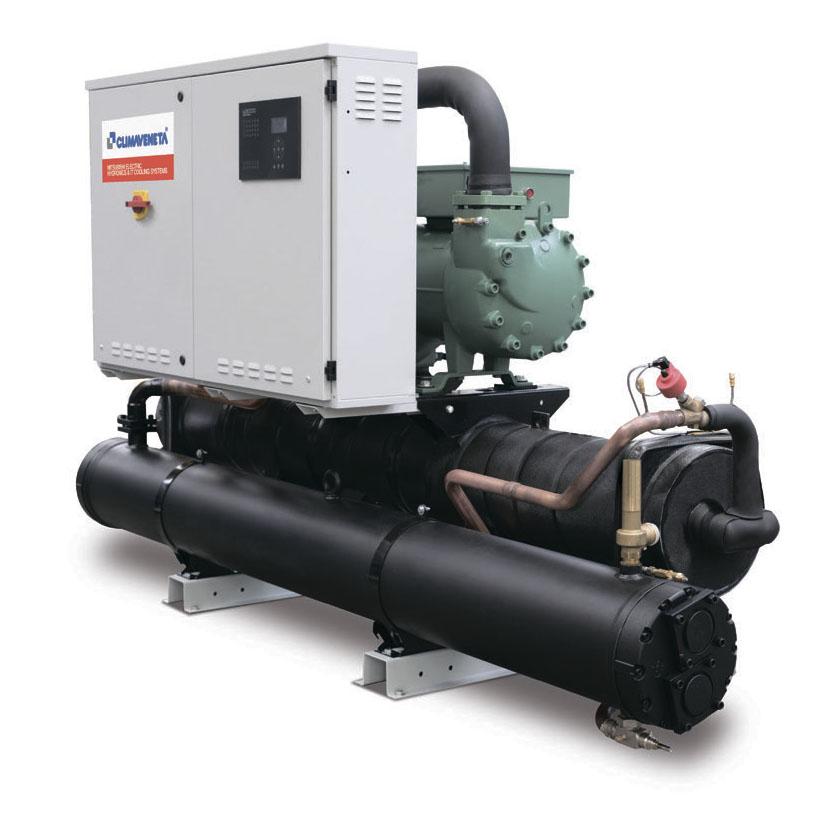 чиллер с водяным охлаждением MITSUBISHI 124-400 кВт