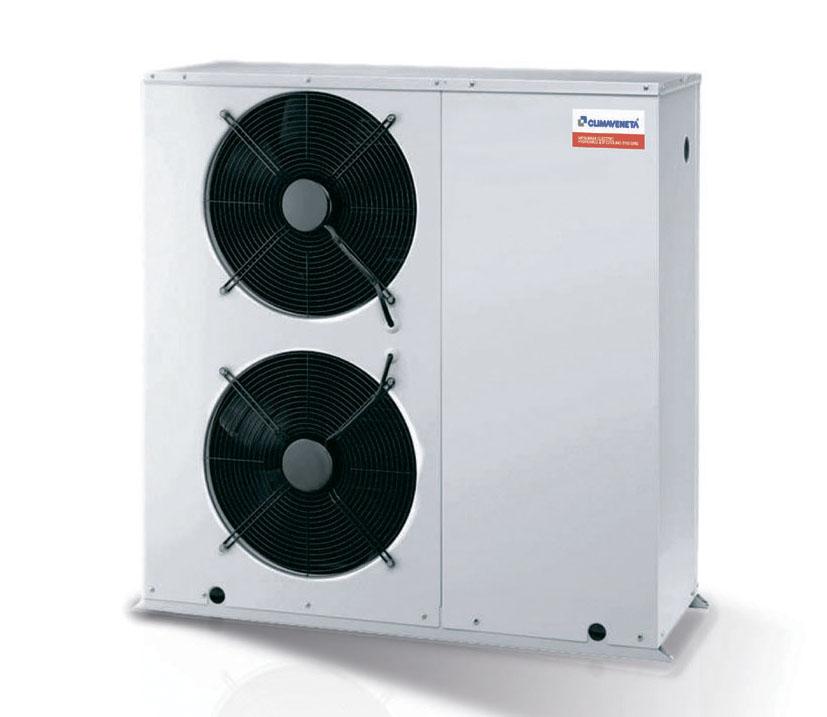 реверсивный тепловой насос воздух_вода