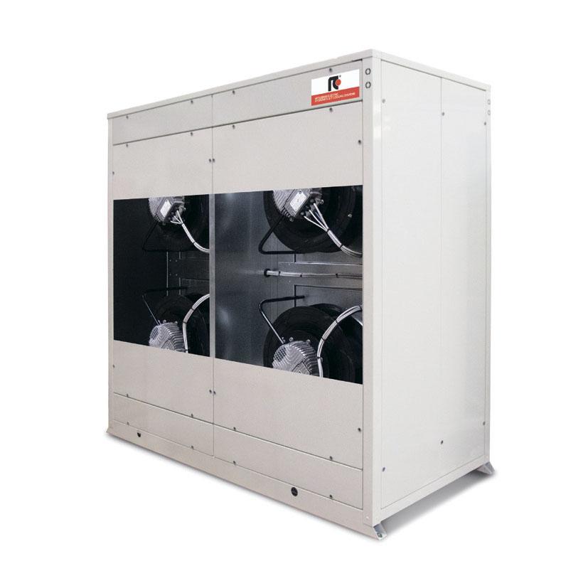 Конденсаторные агрегаты с бескорпусными радиальными вентиляторами